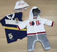 I DO jumpsuit, Chicco body  ja müts, 0-3kuud